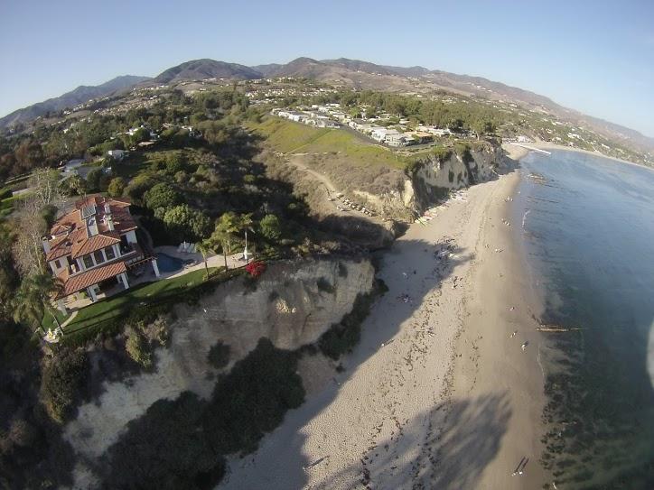 Paradise Cove coastline